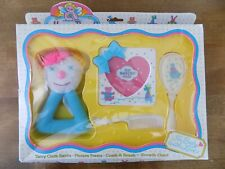 Honey Bunch Baby Gift Set Growth Chart Terry Cloth Rattle Picture Frame Vtg