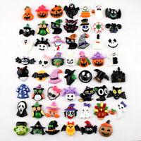 Halloween Pumpkin Lots Phonecover Craft Button Flatback Scrapbook Mix Resin Diy
