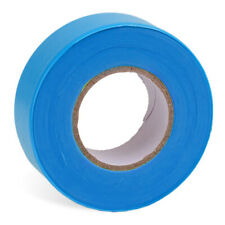AdirPro 150 ft. x 2 in. Blue Survey Construction Marking Flagging Tape 12 Pack