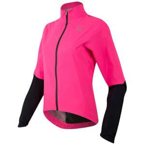 Pearl Izumi Elite WxB Waterproof Womens Cycling Jacket - Screaming Pink / Black