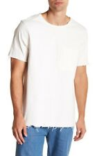 c00627289fe0aa NEW Publish Brand Monte Woven Distressed Shirt in White sz L