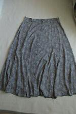 Laura Ashley Vintage skirt blue floral  Size 18 VGC