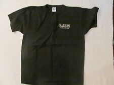 1995 The Eagles Embroidered Black Henley Shirt-Never Worn + Backstage Pass