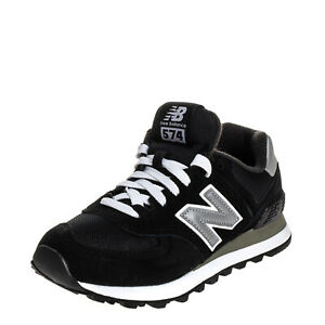 NEW BALANCE 574 Suede Leather Sneakers Size 37 UK 4 US4.5 Reflective Trim