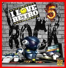 Retro Rock 5 - Non Stop Dj Video Mix- 80 Minutes Of Classic Hits!!!!!