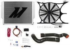 "MISHIMOTO BMW E30/E36 X-Line Radiator+Shroud+Fan+Hose+1/8"" NPT FAN CONTROLLER BK"