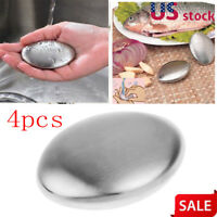 4X Magic Stainless Steel Soap Hand Eliminating Odor Odour Remover Kitchen Bar