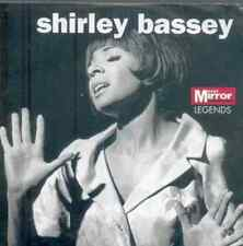 SHIRLEY BASSEY: LEGENDS - PROMO CD: 10 TRACKS - THE POWER OF LOVE, YESTERDAY ETC