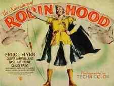 Metal Sign Adventures Of Robin Hood The 03 A4 12x8 Aluminium