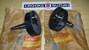12221-20300 & 12261-20301 1981 RM80 XX Suzuki Right & Left Hand Crank Half Set