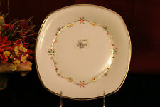 Lenox Solitaire White CHRISTMAS  Square Accent Plate NEW USA 1stQ