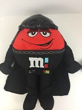 "M&M's Star Wars Darth Vader Red Plush Toy Figure 16"" New NWT"