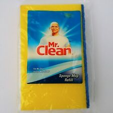 Mr Clean Sponge Mop Refill 456886 Snap On Snap Off NEW