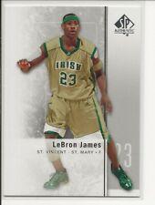 2011-12 SP Authentic LeBron James St. Vincent St. Mary #2