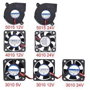 BIQU 5015/4010/3010 Cooling Fan 12V 24V 5cm Brushless Blower Fan For V6 J Head