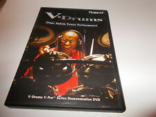 DVD V DRUMS Omar Hakim Power Performance Pro Series Demonstration Roland LEARN