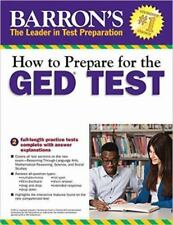 How to Prepare for the GED Test, 2nd Edition Barron's Ged Book Only