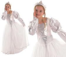 Childrens Kids Princess Fancy Dress Costume Girls Childs Cinderella Outfit M