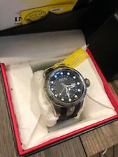 Invicta 52mm Reserve Flame fusion crystal SWISS GMT Silver SS 1000m men's Watch