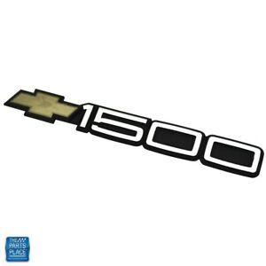 1988-2000 Chevrolet Truck Door 1500 Emblem For Body Side Molding GM 15551231