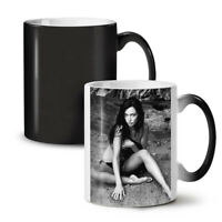 Beach Girl Hot Model NEW Colour Changing Tea Coffee Mug 11 oz | Wellcoda