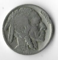 Rare Very Old Antique 1934 US Buffalo Indian Nickel Collection Coin USA Cent T18