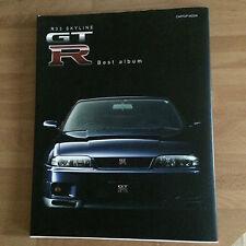 R33 Skyline Nissan GT-R Best Album Photo Collection Book