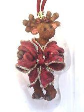 "Boyds Critter & Co Ornament ""Monica Kissmoose"" #25005 -New- 2002"