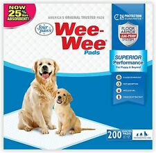 """New listing Four Paws Wee-Wee Puppy Training Standard Size 22"""" x 23"""" x"""