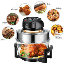 Extra Large 17Qt Family Air Fryer 1400W Healthy Cook Roast Timer & Temp Control