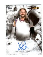 WWE Kassius Ohno 2018 Topps Undisputed On Card Autograph SN 194 of 199