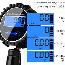 Digital Manomètre Jauge de Pression de Pneu Pistolet de Gonflage Haute Précis