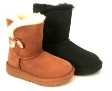 NEW KIDS UGG BAILEY BUTTON II BOOTS 1017400T SIZE 6T, 10T, 11T, 13K, 3K
