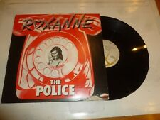 """THE POLICE - Roxanne - Rare 1978 UK limited edition 2-track 12"""" vinyl single"""