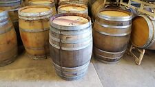 4 Used Wine Barrels solid oak from Napa valley, LOWEST PRICE & SHIPPING ON EBAY!