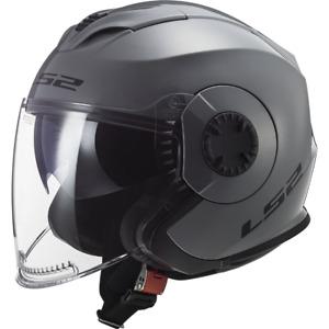 Casco LS2 Helmet Verso Nardo OF570 - Grigio