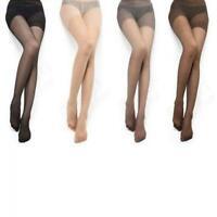 4 Farben Sexy Womens Sheer Voller Fuß Dünne Strumpfhose Bein Strumpfhose
