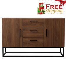 47' Kitchen Antique Cupboard Storage Cabinet Server Table Dining Room Furniture