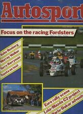 Autosport Jan 3rd 1985 *FF1600 & FF2000 Season Surveys*