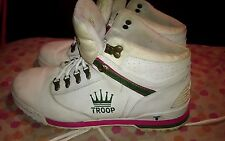 RARE VINTAGE TROOP MENS HI  SNEAKERS SZ 11 LL COOL J HIP HOP 80's