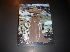 "NATE DUVAL Handbill Silkscreen Print MUSHROOM WOMAN FOIL 6 X 8"" like poster art"