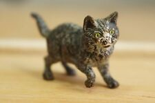 "Superb Vienna Bronze Cold Painted Cat Adell Venus Collection 1.5"" [Y8-W6-A8-E9]"