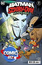 BATMAN & SCOOBY DOO MYSTERIES #2 (2021) 1ST PRINTING MAIN COVER DC COMICS