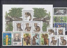 222104 / Slowakei ** MNH LOT WWF FAUNA KATZE CEPT