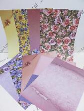 Floral & Estampado papel del forro 130gsm 18 Shts de 1 lados (2 de cada diseño) AM200