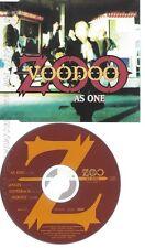 CD--VOODOO ZOO -AS ONE ----
