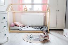Kinderbett - Holzhaus Bett Für Kinder TALO D2 120x200 cm