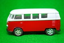 Welly Motorized VW Volkswagen 1962 Microbus in Red & White Color Made in China