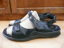 womens ecco shoes size 41 US 10-10.5 black leather nice