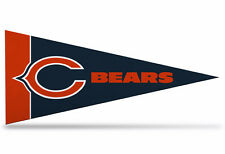 """New Nfl Chicago Bears Mini Pennant 9""""x4"""" Made in Usa Banner Flag"""